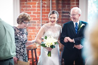 An Intimate September Wedding at The Loft at 600F & The National Portrait Gallery 50