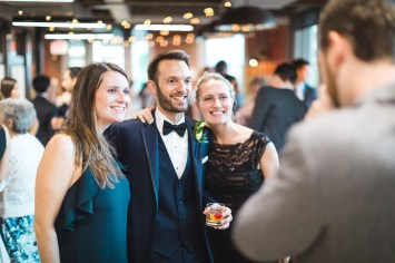 An Intimate September Wedding at The Loft at 600F & The National Portrait Gallery 71