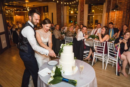 An Intimate September Wedding at The Loft at 600F & The National Portrait Gallery 86