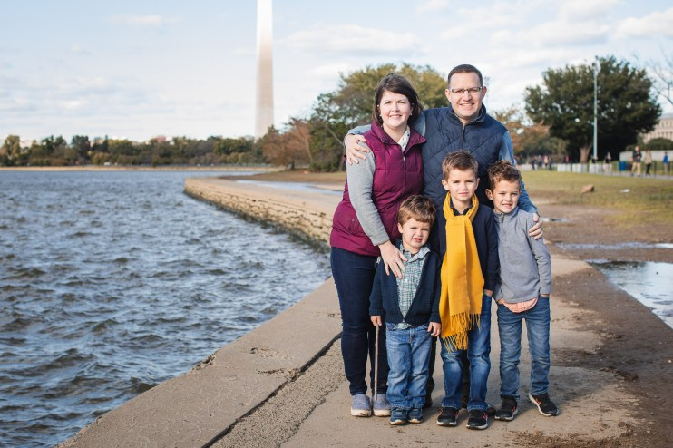Tidal Basin Family Portraits Ross & Sarah's Family 17