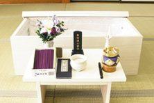 お別れ式設置祭壇