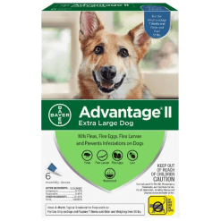 Advantage II Dog XL Over 55 lbs