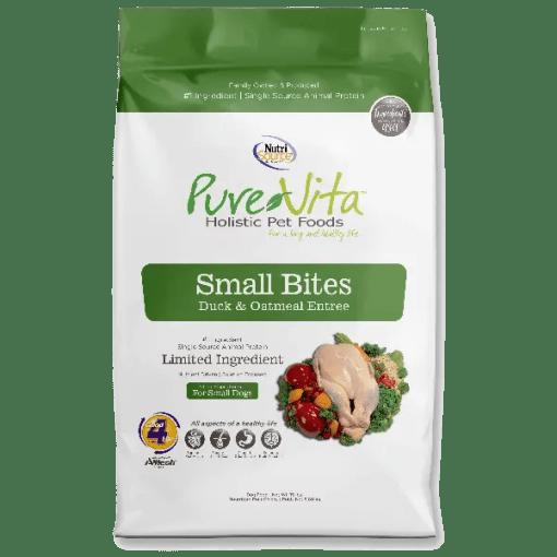 NutriSource Pure Vita Dog SB Duck Oatmeal 5lb.