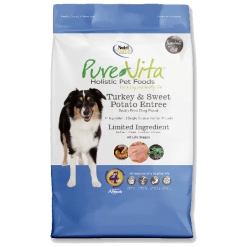 NutriSource Pure Vita Dog Grain Free Turkey Sweet Potato 25lb.