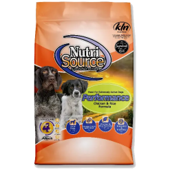 NutriSource Dog Performance Chicken Rice 40lb.