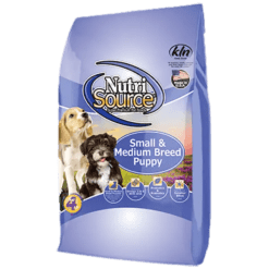 Nutri Source Small Medium Breed Puppy.