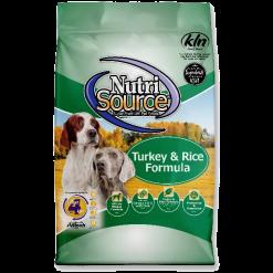 NutriSource Dog Turkey Rice 30lb.