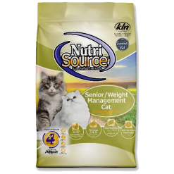 NutriSource Cat Senior Weight Management 6.6lb.