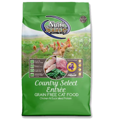NutriSource Cat Food Grain Free Country Select.