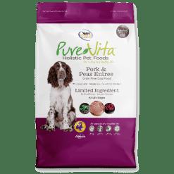 NutriSource Pure Vita Dog Grain Free Pork Peas 15lb