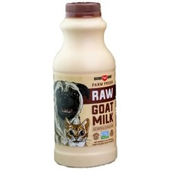 Boss Dog Frozen Raw Goat Milk 16-oz Bottle.