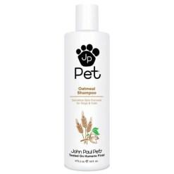 John Paul Pet Sensitive Skin Formula Oatmeal Dog & Cat Shampoo, 16-oz bottle.