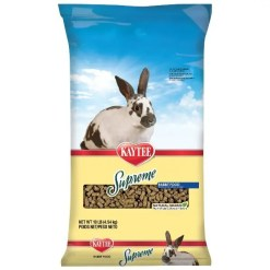 Kaytee Supreme Fortified Daily Diet Rabbit Food.