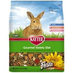 Kaytee Fiesta Gourmet Variety Diet Rabbit Food, 6.5-lb.