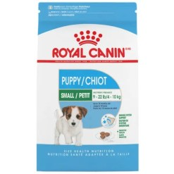 Royal Canin Small Puppy Dry Food, 2.5-lb Bag.