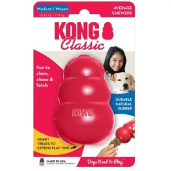 KONG Classic Dog Toy, Medium.