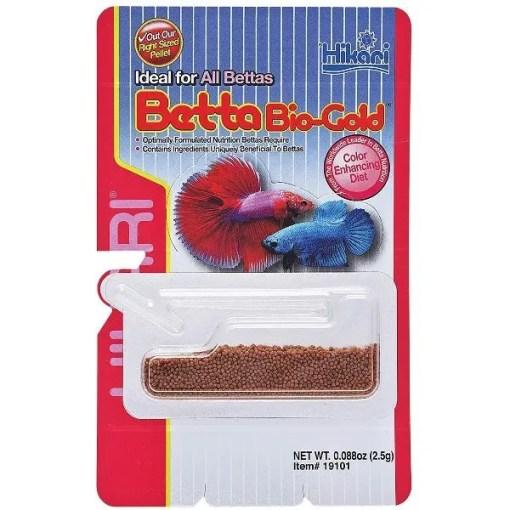 Hikari Bio-Gold Betta Fish Food, Packet.