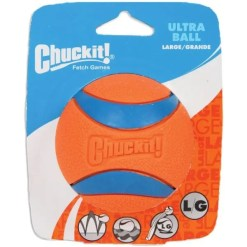 Chuckit! Ultra Rubber Ball Dog Toy, Large, 3 in.