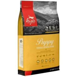 ORIJEN Puppy Dry Dog Food, 13-lb Bag.