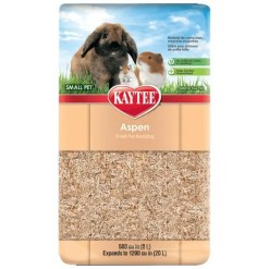 Kaytee Aspen Small Animal Bedding, 20-L.