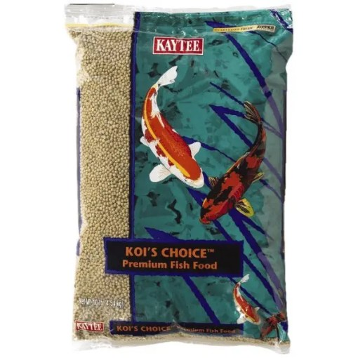 Koi's Choice Premium Fish Food, 10-lb Bag.