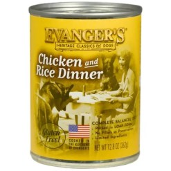 Evanger's Classic Recipes Chicken & Rice Canned Dog Food, 12.8-oz.