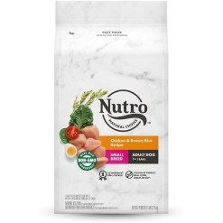 Nutro Wholesome Essentials Small Breed Adult Chicken, Brown Rice & Sweet Potato Recipe Dry Dog Food, 5-lb Bag SKU 7910512217