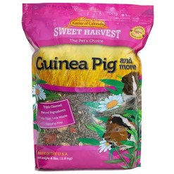 Sweet Harvest Guinea Pig & More Small Animal Food, 4-lb Bag.