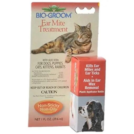 Bio-Groom Ear Mite Treatment for Pets, 1-oz Bottle.