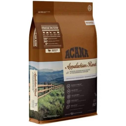Acana Regional Appalachian Ranch Grain-Free Dog Food, 13-lb Bag.