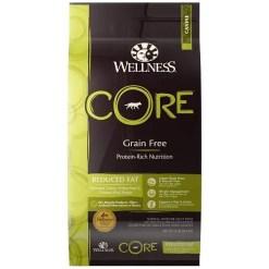 Wellness CORE Grain-Free Reduced Fat Turkey & Chicken Recipe Dry Dog Food, 24-lb.