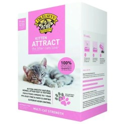 Dr. Elsey's Kitten Attract Clumping Clay Cat Litter, 20-lb Box.