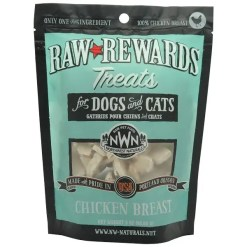 Northwest Naturals Raw Rewards Freeze Dried Chicken Breast Treats, 2.5-lb Bag.