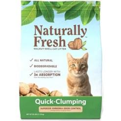 Naturally Fresh Unscented Clumping Walnut Cat Litter, 26-lb Bag SKU 5024423001