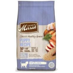 Merrick Classic Healthy Grains Puppy Recipe Dry Dog Food, 12-lb Bag.