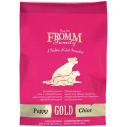 Fromm Gold Puppy Recipe Dry Food, 15-lb Bag.