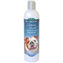 Bio-Groom Soothing Anti-Itch Oatmeal Shampoo, 12-oz Bottle.