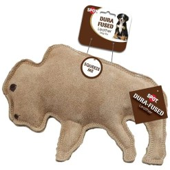 Ethical Pet Spot Dura-Fused Leather & Jute Buffalo, Large.