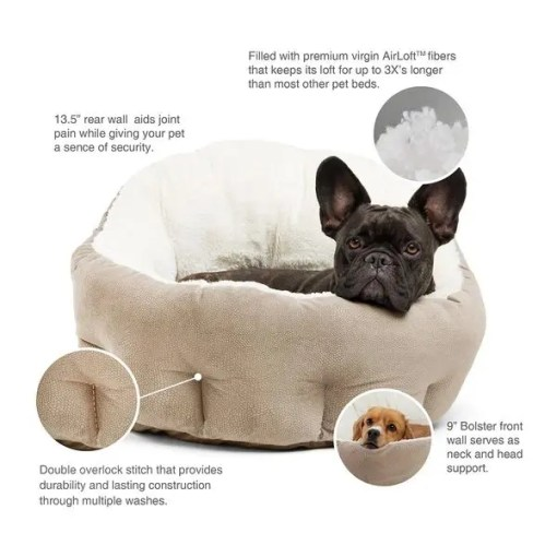 Best Friends by Sheri OrthoComfort Ilan Bolster Jumbo Pet Bed.