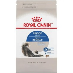 Royal Canin Indoor Adult Dry Cat Food, 3-lb.