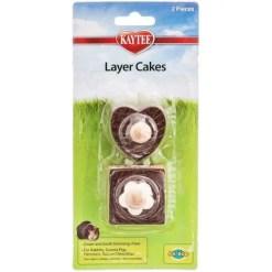Kaytee Layer Cakes Small Animal Chew Toy.