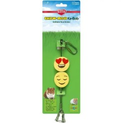 Kaytee Chew-Moji Ka-Bob Small Animal Toy.