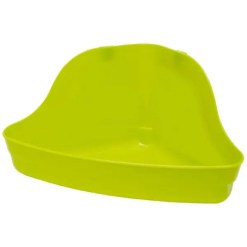 Kaytee Hi-Corner Litter Pan, Assorted Colors.