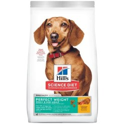Science Diet Adult Small & Mini Perfect Weight Dry Dog Food, 4-lb.