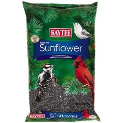 Kaytee Black Oil Sunflower Wild Bird Food, 5-lb Bag.