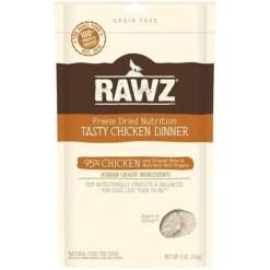 RAWZ Freeze Dried Tasty Chicken Dinner Dog Food, 5-oz.
