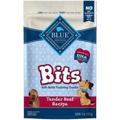 Blue Buffalo Blue Bits Tender Beef Recipe Soft-Moist Training Dog Treats, 4-oz SKU 5961000835