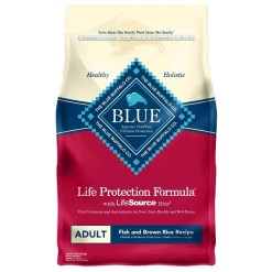 Blue Buffalo Life Protection Formula Adult Fish & Brown Rice Recipe Dry Dog Food, 6-lb SKU 5961000028