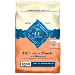 Blue Buffalo Life Protection Formula Large Breed Puppy Chicken & Brown Rice Recipe Dry Dog Food, 30-lb SKU 5961000044