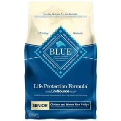 Blue Buffalo Life Protection Formula Senior Chicken & Brown Rice Recipe Dry Dog Food, 6-lb SKU 5961000013
